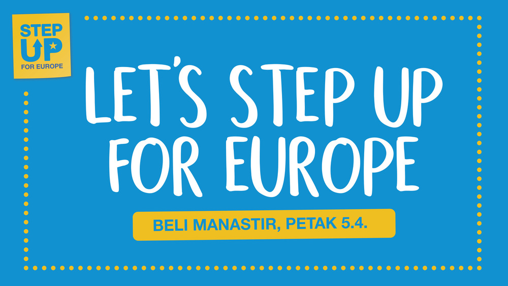 Large stepupforeurope